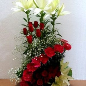 Rose Lillies Arrangement