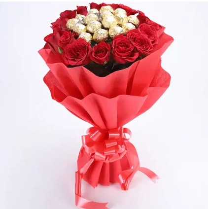Rocher Rose Bouquet
